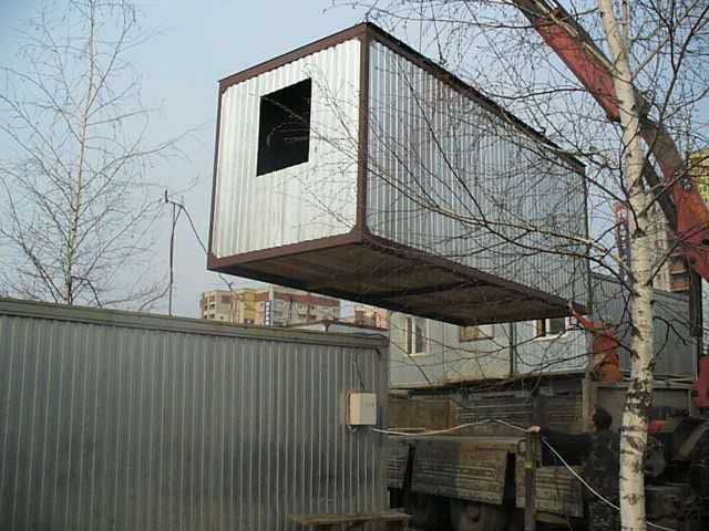 Строим металлокаркасные дачные дом...