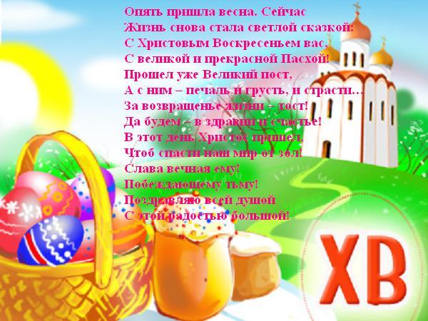 Поздравляю с воскресением Христа!...