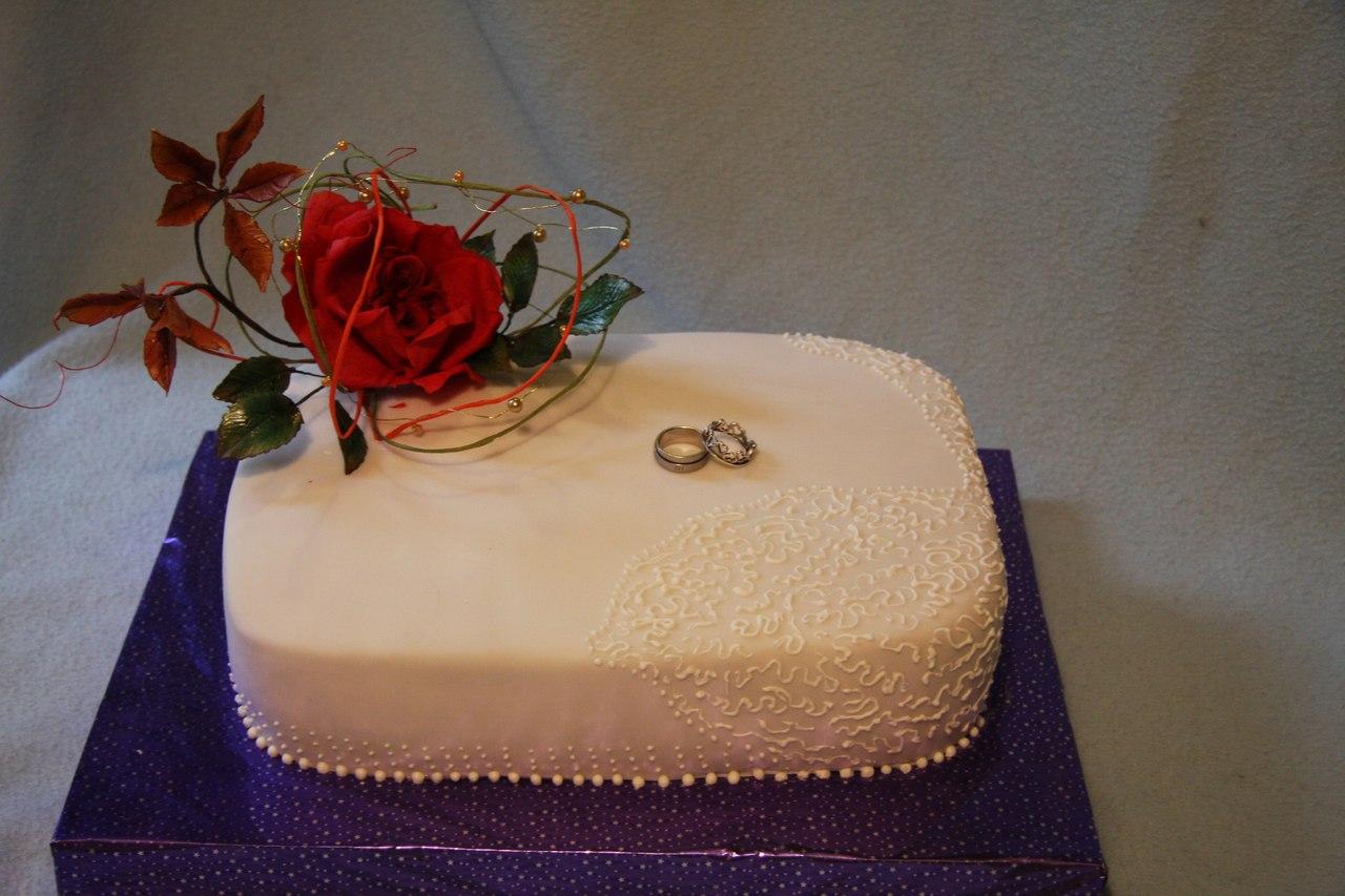 Элегантные и вкусные свадебные тор...