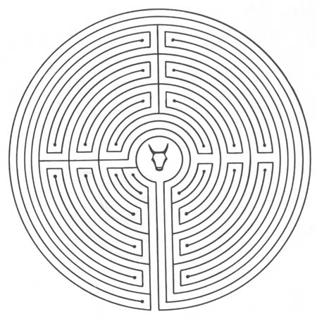 Минотавр всегда подразумевает под собой Лабиринт.