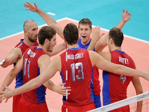 Наши волейболисты просто красавцы!!!))))