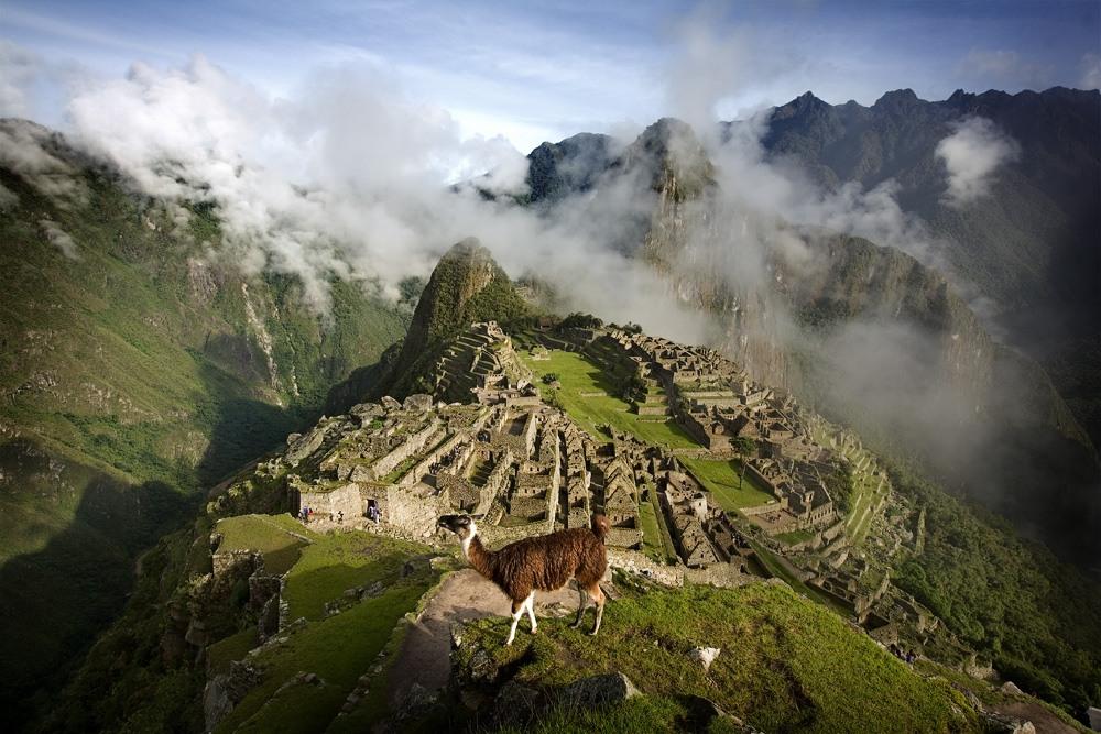Мачу-Пикчу, спрятанный в Андах гор...