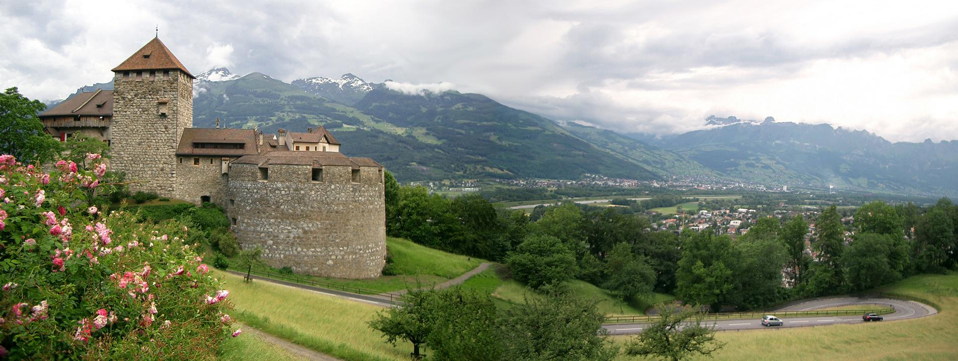 Замок Вадуц в Лихтенштейне   www.o...