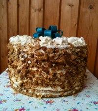 Медовый тортик Винни-Пух,чернослив...