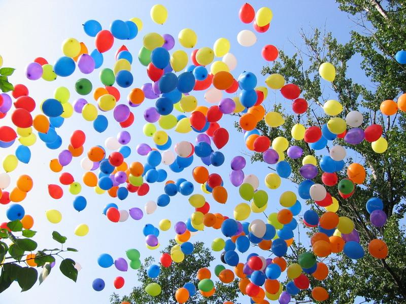 Гелиевые шары по 20 рублей! Только сегодня