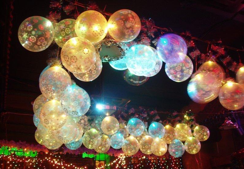 Сбор заказов. Светящиеся шарики. О...