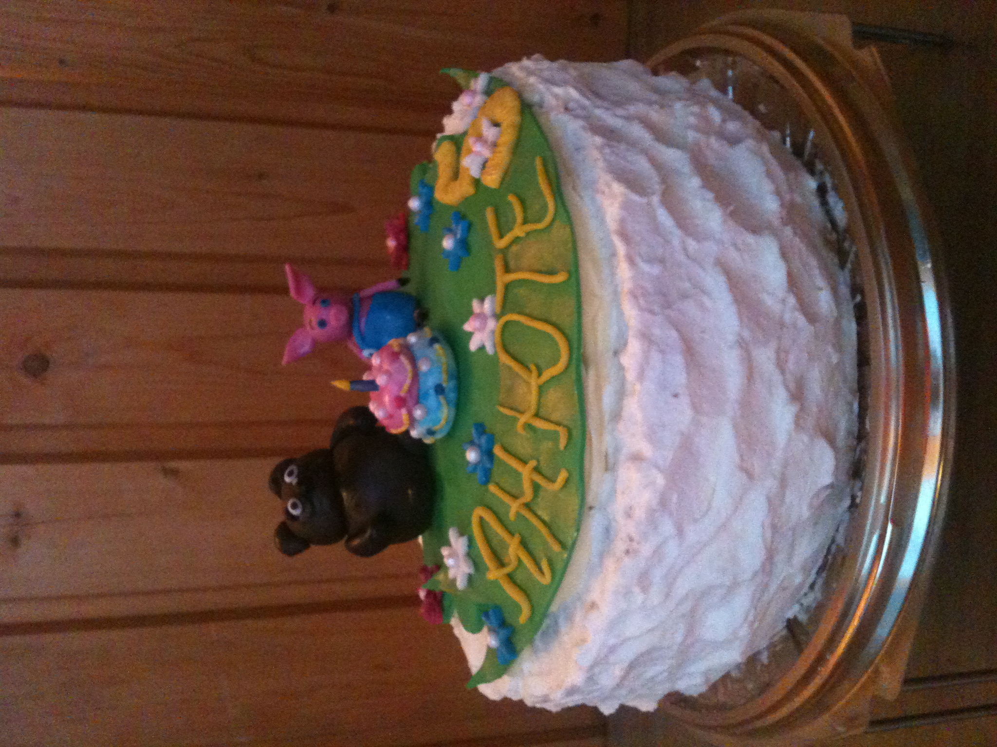 Тортик с Винни Пухом и Пятачком дл...