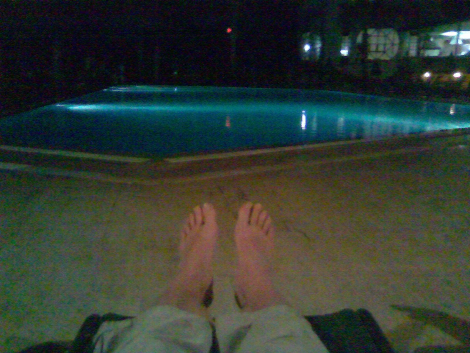 Однажды теплым вечером..
