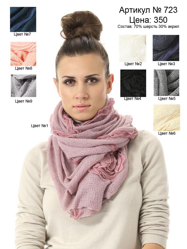 Самые красивые шарфы, палантины и...