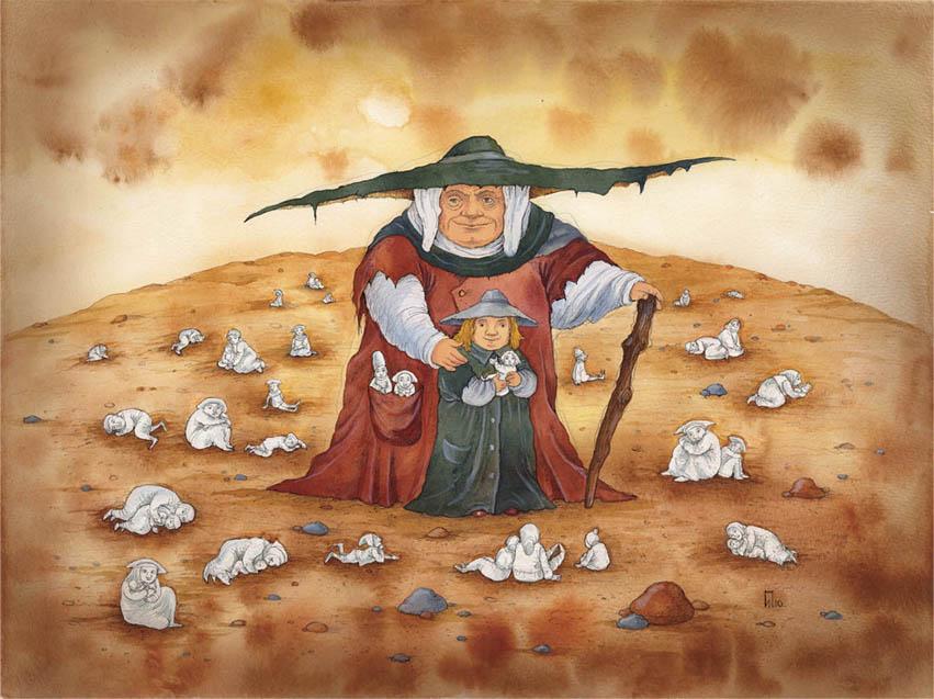 Сказочные иллюстрации Ирины Петели...