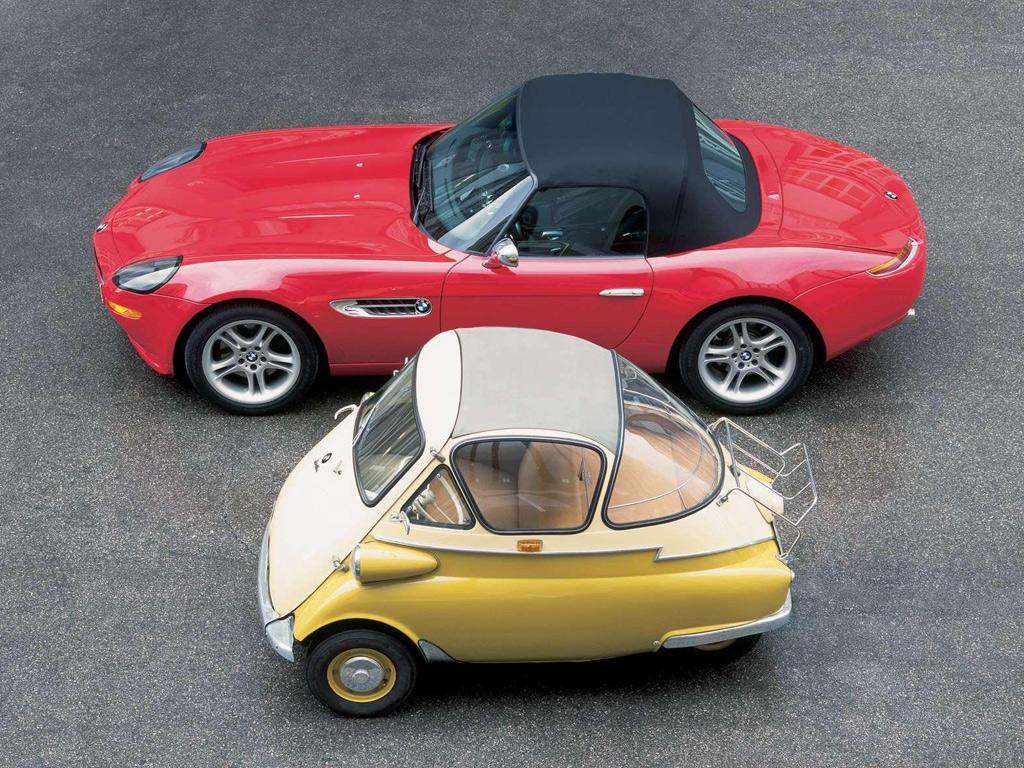 BMW Isetta старое авто и новый кон...