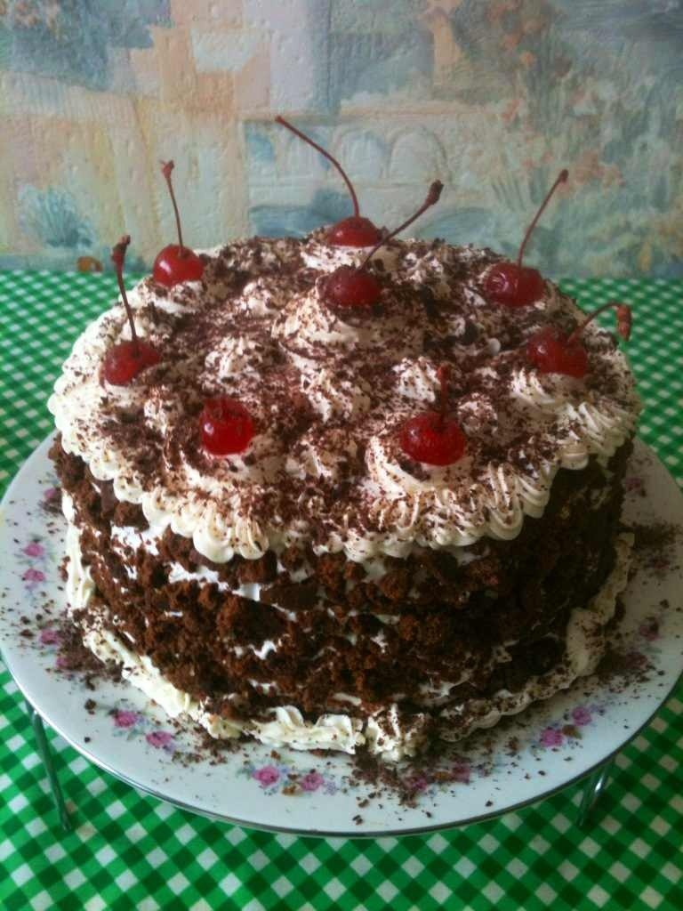 Тортик на 23 февраля мужу и свекру...