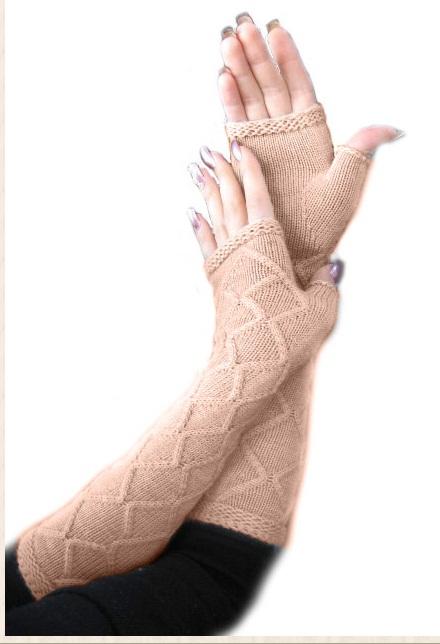 Сбор заказов. Вязанные перчатки дл...