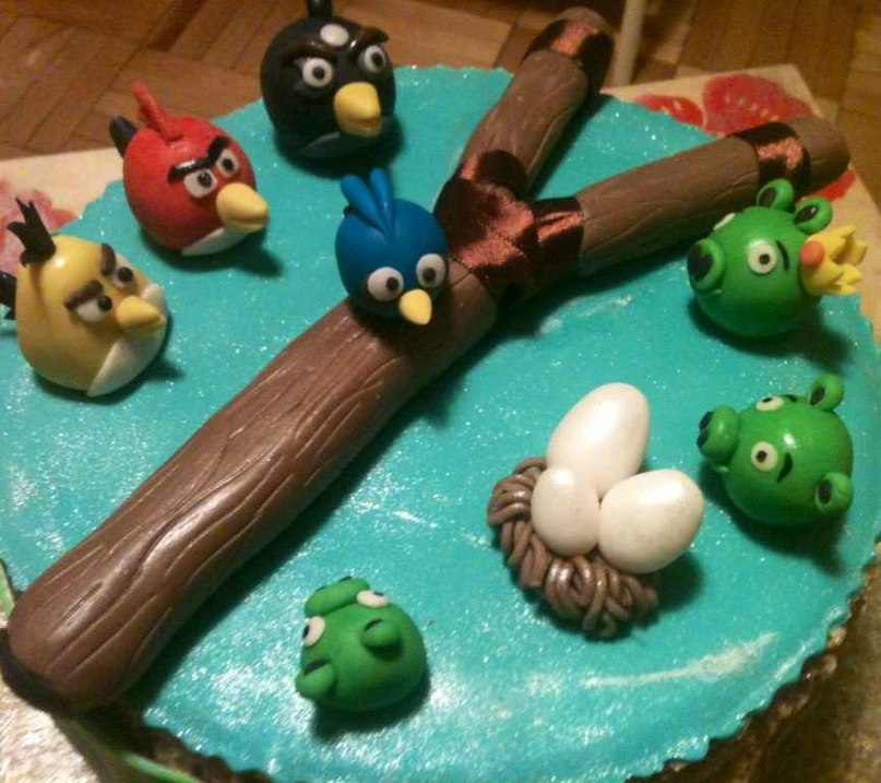"Медовик ""Angry Birds"""