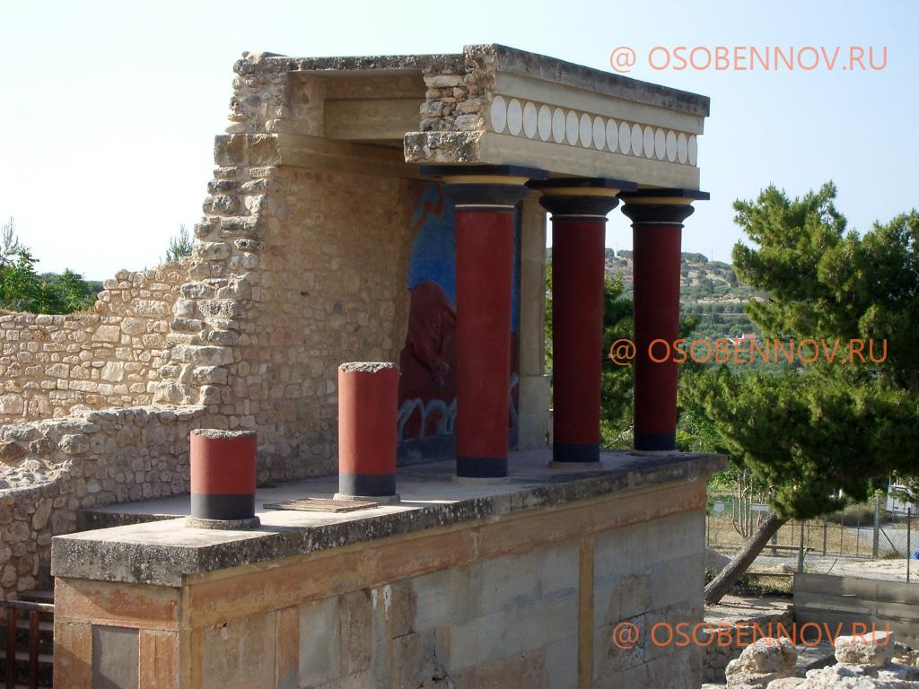 Кносский дворец, Крит, Греция   ww...