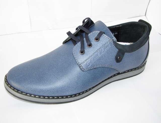 Мужская обувь из натуральных матер...