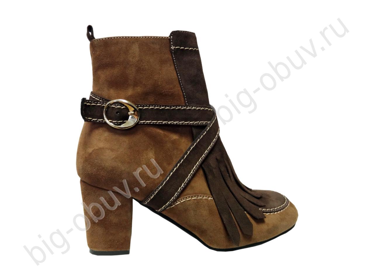 Женская обувь больших нестандартны...