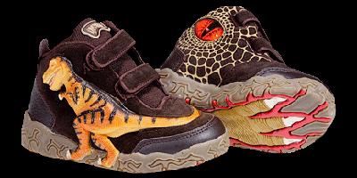 Детская обувь с динозаврами :)  Со...