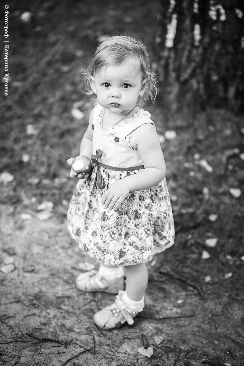 ... черно-белая фотография у меня...