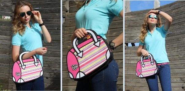Сбор заказов. 2D-сумки-мультики -...