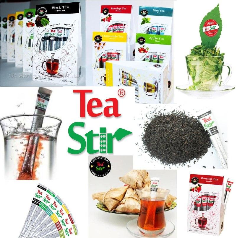 Инновация на рынке чая: чай-ручка....