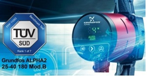 GRUNDFOS ALPHA2 new признан самым...