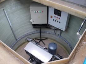 Первая подземная насосная станция...