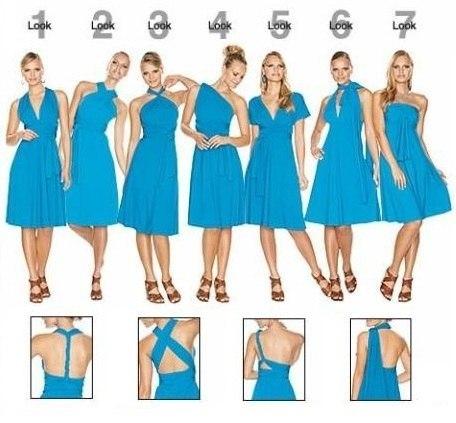 Уникальные платья-трансформеры! Дл...