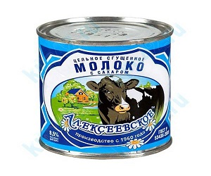 Сгущенное молоко «Алексеевское» –...