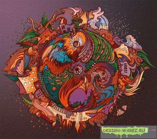 Разноцветная планета - ГАЛЕРЕИ! Уч...