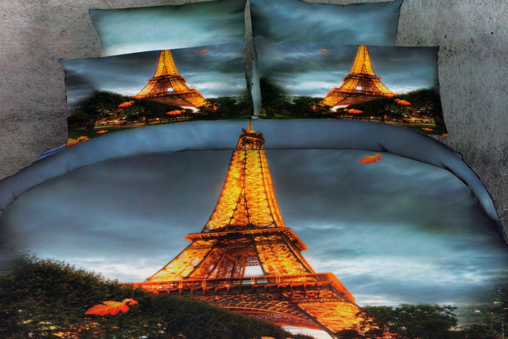 Комплекты постельное белье с 3D ри...