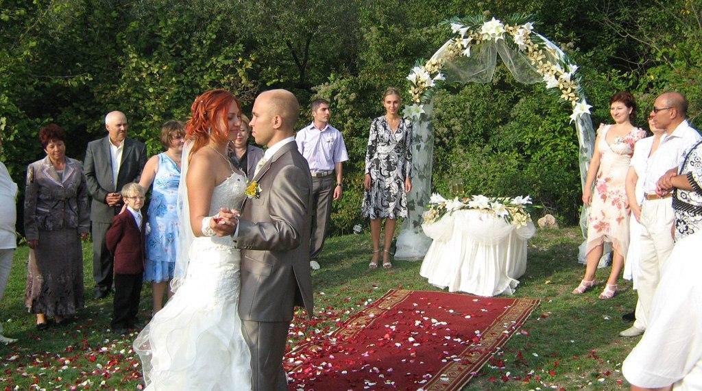 Организация свадьбы на природе не...