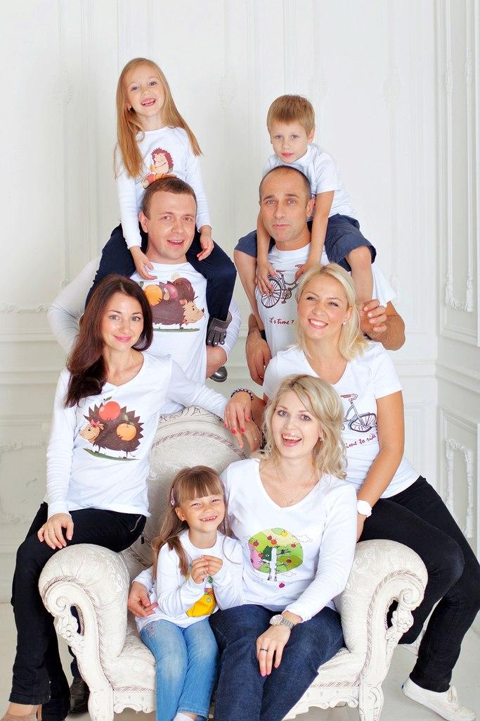 новый сбор одежды family look! Люб...