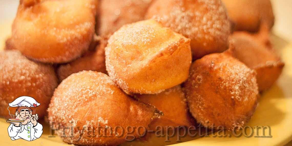 Дрожжевые пончики – шикарные возду...