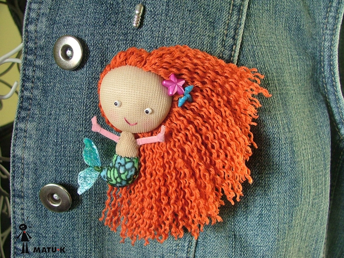 Куклы – брошки matu-k.blogspot.ru/...