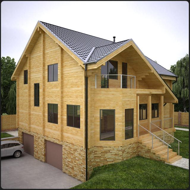 Основные достоинства домов из брус...