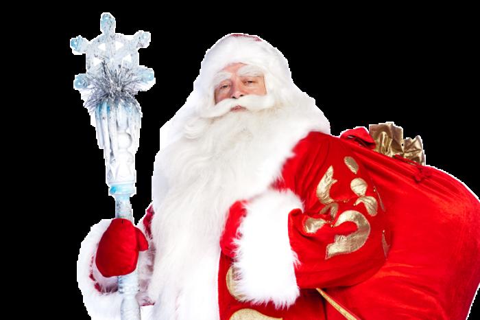 Долгожданный Дед Мороз всем подаро...