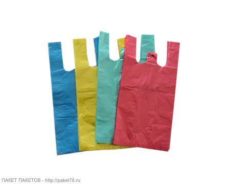 Сбор заказов. Пакет-майка, цветной...