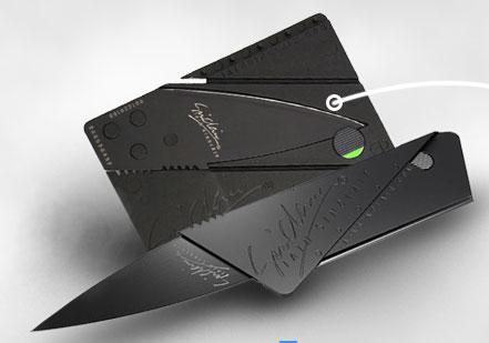 Сбор заказов. Нож-кредитка: легко...