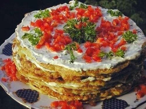 Кабачковый торт   Ингредиенты:  ·...