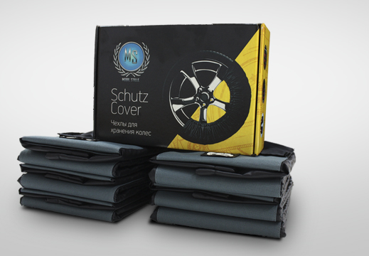 Храни резину в чехлах - SCHUTZ COV...