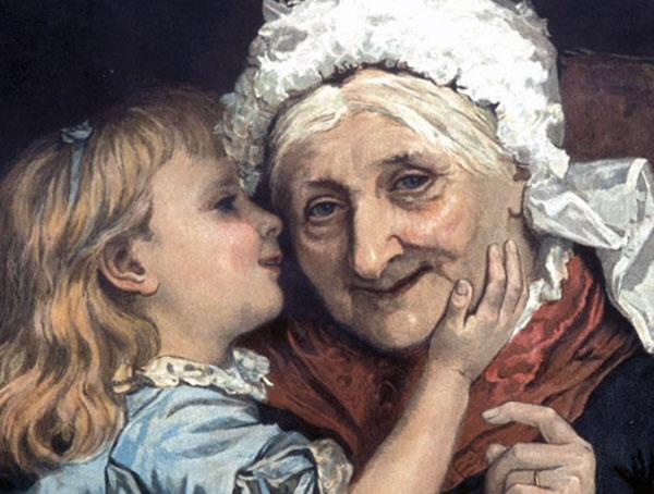 Бабушка — это такой человек, котор...