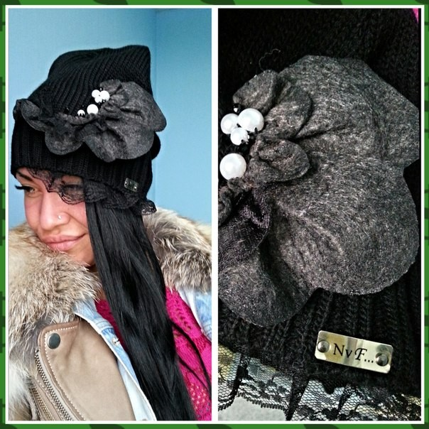 Сбор заказов. Необыкновенной красоты дизайнерские шапки от N-V-F. Такой красоты Вы точно не встречали! Просто посмотрите...