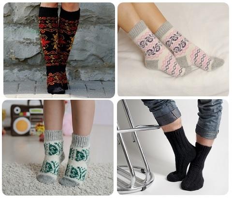Сбор заказов. Бабушкины носки-3. Шерстяные красивые носочки, следки, гольфы для всей семьи. Есть пряжа.
