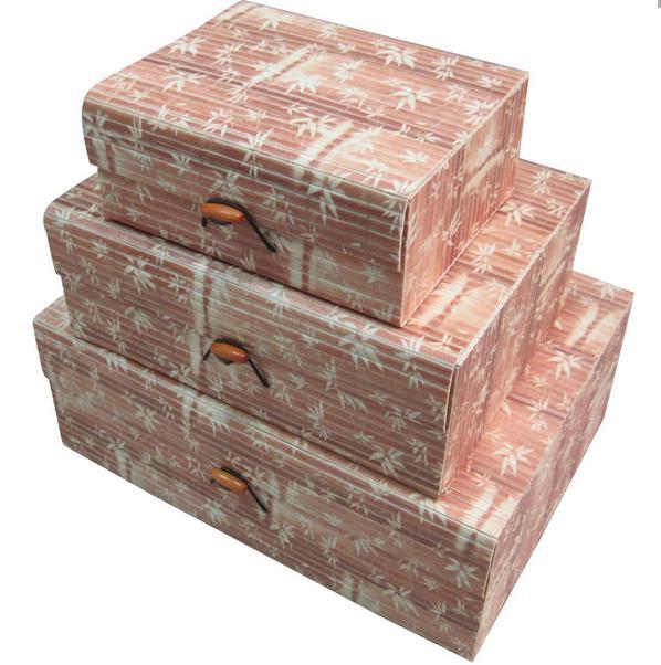 Удобное хранение для наших творческих идей. Складные короба, бамбуковые и подарочные коробочки. Стоп 30 ноября.