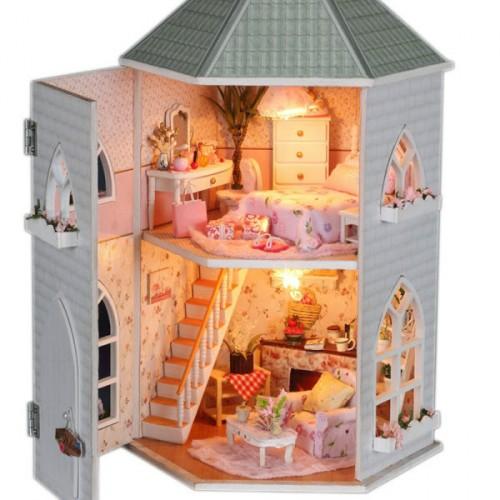 Не знаете что подарить ребенку на Новый год?Кукольные домики удивительной красоты!Эксклюзивная продукция развивающего характера!