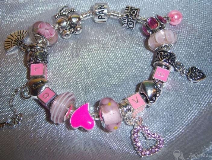 Распродажа Pandora-реплика бренда. Клёвые браслеты от 250 руб. стоп 17.11