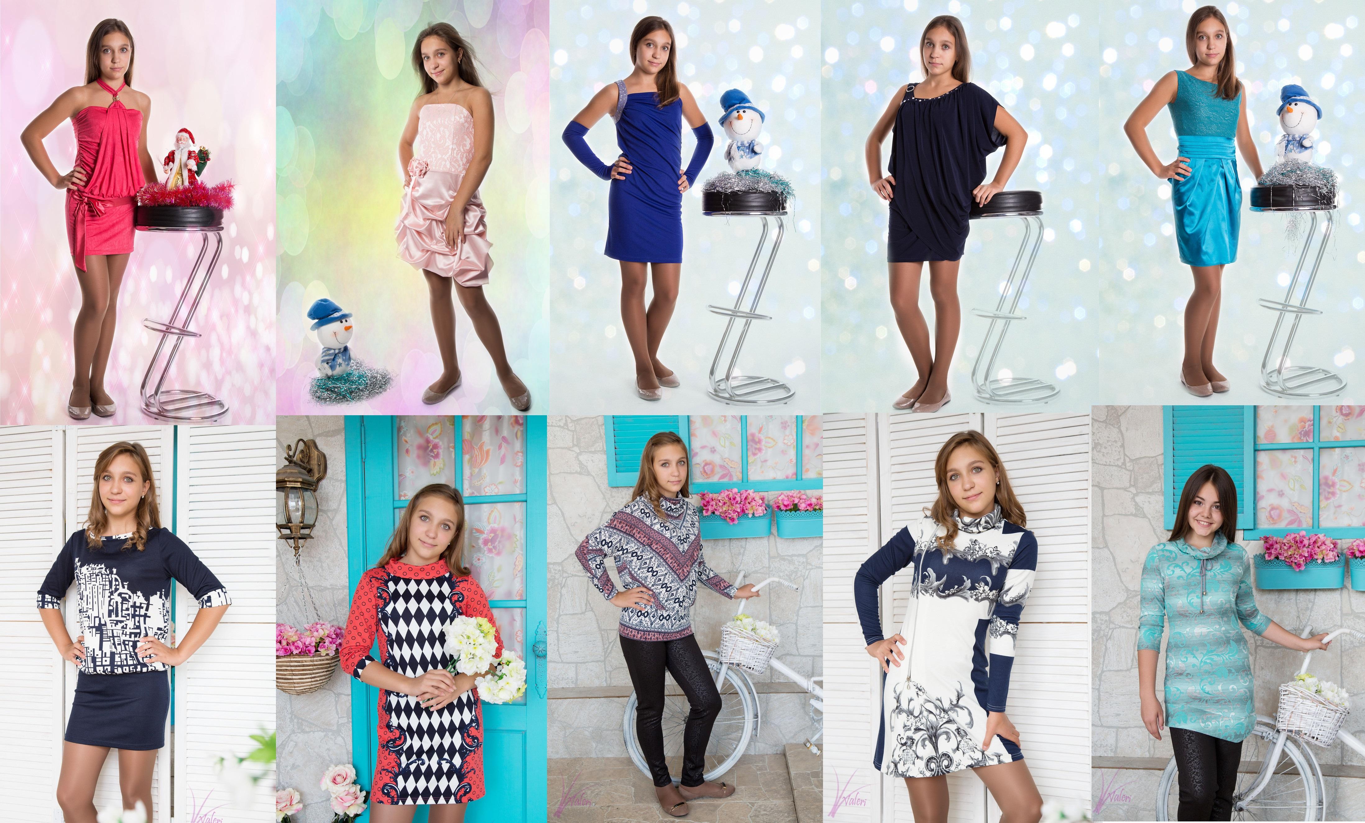 Для самых модных и стильных девочек-подростков 3! Нарядная коллекция. Школа. Размерный ряд 134-164. Без рядов!