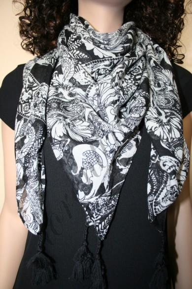 LoRenТin0. Платки, шарфы, палантины, хомуты и парео.