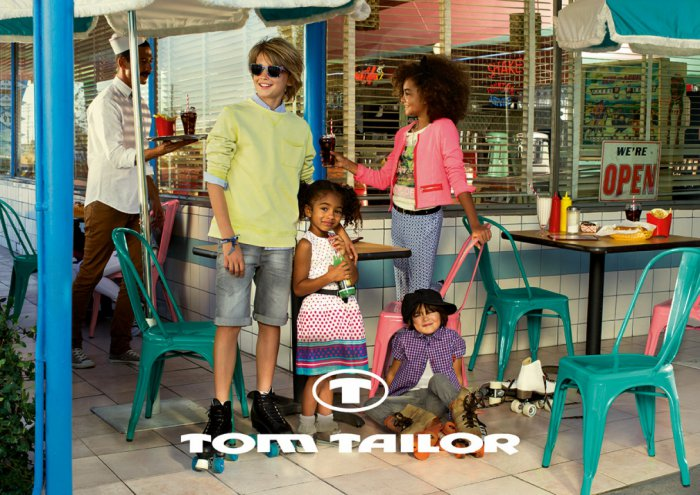 Tom Tailor Kids - детская и подростковая одежда известного бренда!